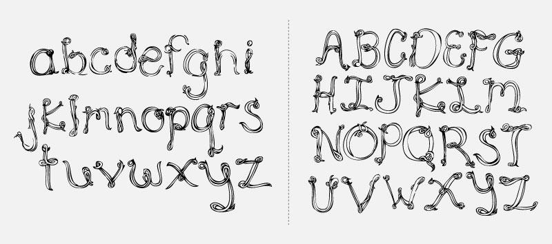 Squine Typeface